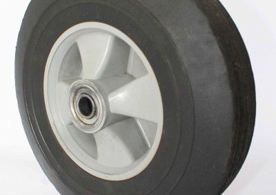 Solid Compressed Rubber Wheels