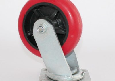 6x2 Urethane Wheel Swivel Caster